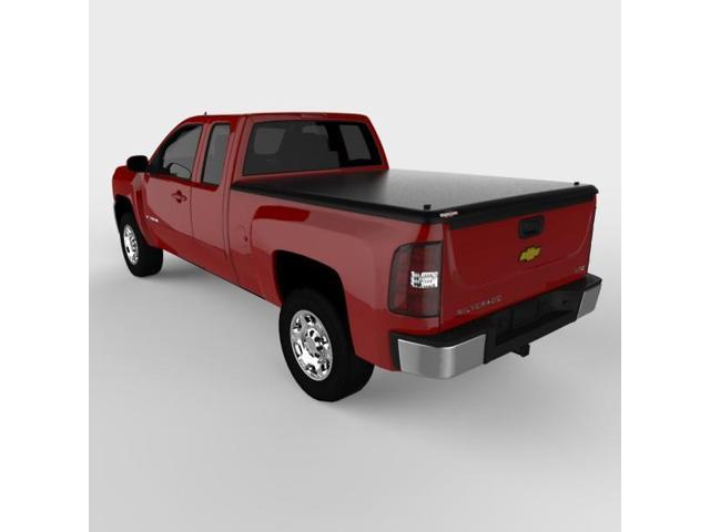 Undercover UC1070 CLASSIC Hinged ABS Tonneau Cover, Silverado 6.5'; Black