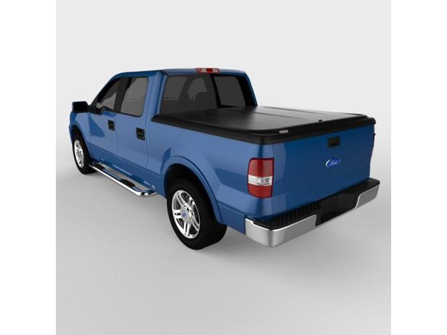Undercover UC2086 SE Hinged ABS Tonneau Cover, Ford F-150 5.5'; Black