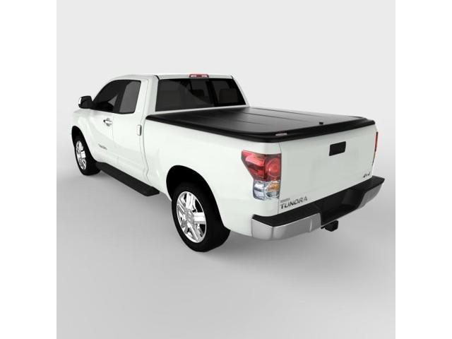 Undercover UC4076 SE Hinged ABS Tonneau Cover, Toyota Tundra 6.5'; Black