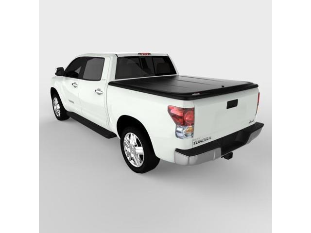 Undercover UC4086 SE Hinged ABS Tonneau Cover, Toyota Tundra 5.5'; Black