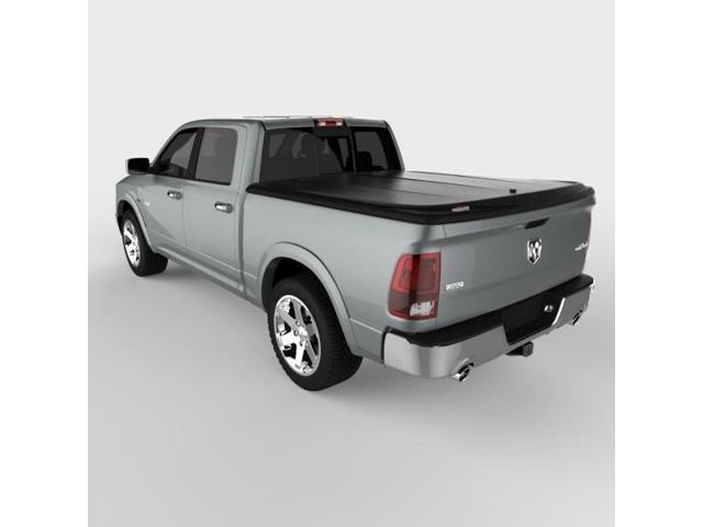 Undercover UC3086 SE Hinged ABS Tonneau Cover, Dodge Ram 5.5'; Black