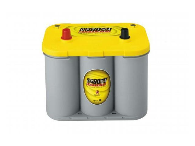 Optima Batteries 8012-021 Sealed Gel Battery - group 34 Yellow Top