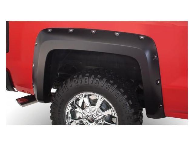 Bushwacker 40120-02 Chevrolet Pocket Style Fender Flare Rear Pair