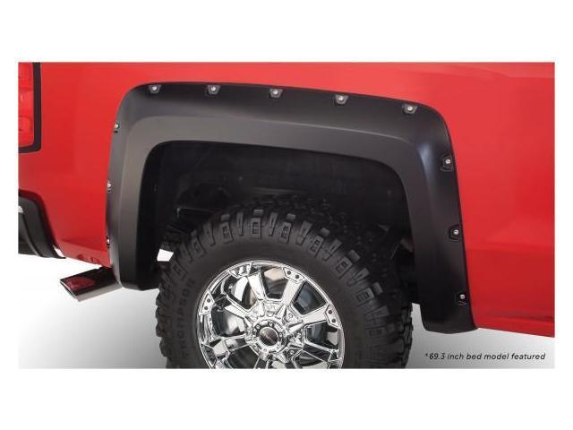 Bushwacker 40116-02 Chevrolet Pocket Style Fender Flare Rear Pair