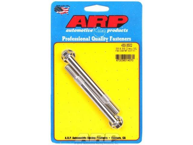ARP 430-3502 SB & BB Chevy SS hex starter bolt kit