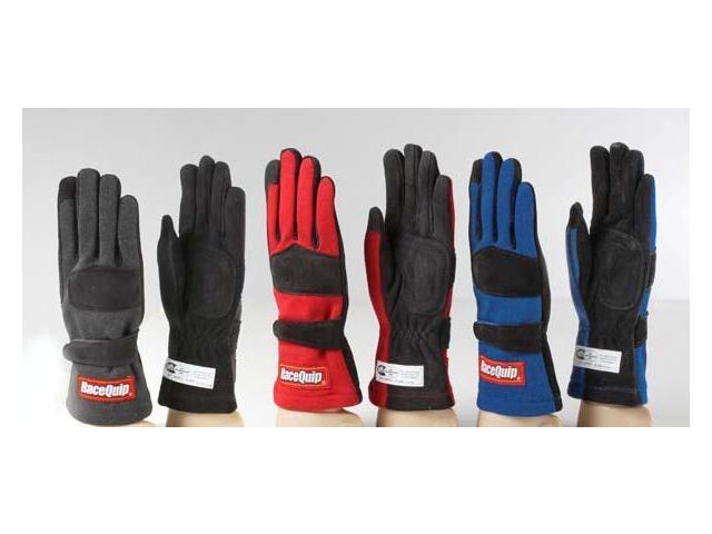 Racequip 355003 Racing Gloves-Black
