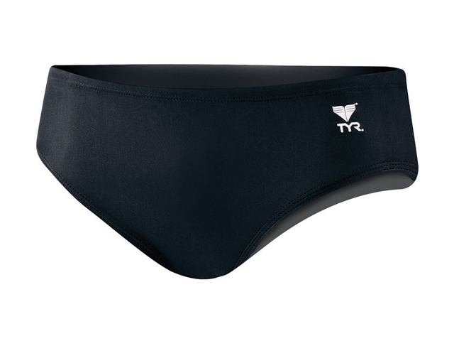 Tyr Solid 4in Nylon Trainer Male Black 32