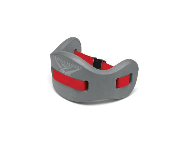 Speedo Jog Belt Charcoal/Red Small/ Medium