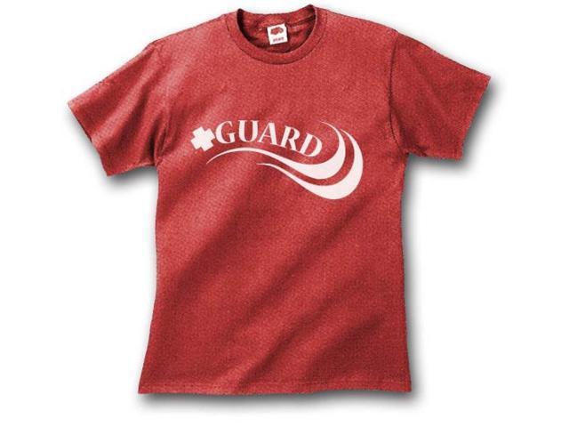 Lifeguard T-Shirt Red Medium