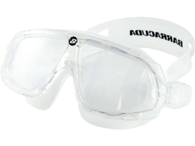 Barracuda Wire Mask Swim Goggles Clear