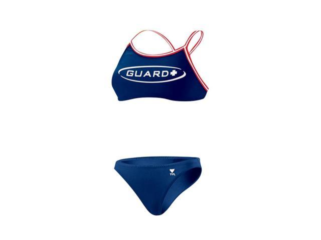 Tyr Guard Dimaxback Workout Bikini Female Navy Large
