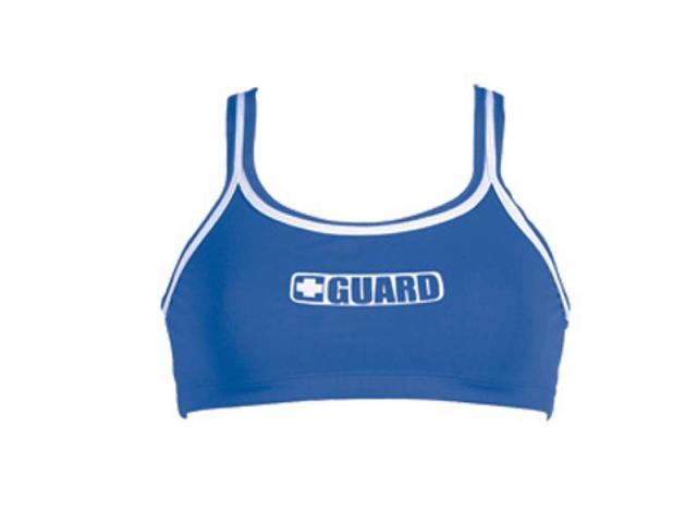 Dolfin 2-Piece Guard Top Female Guard Royal Large