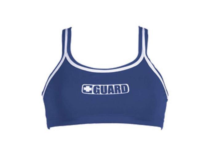 Dolfin 2-Piece Guard Top Female Guard Navy Large