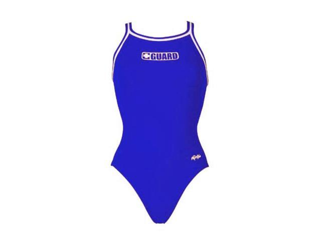 Dolfin Poly Guard DBX Back Female Royal 36