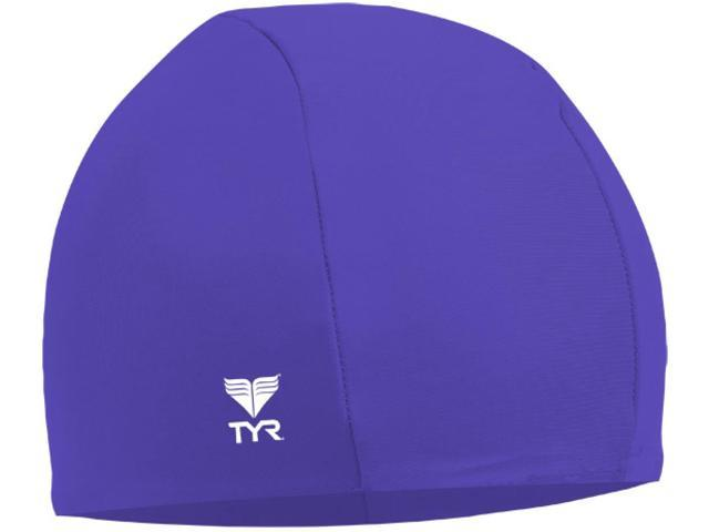 Tyr Lycra Swim Cap Royal