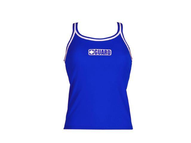 Dolfin Guard Tankini Top Female Guard Royal Large