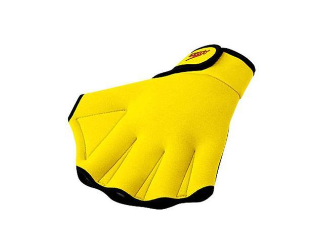 Speedo Fitness Glove UV Yellow Small