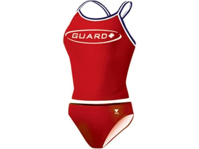 Tyr Guard Dimaxback Tankini Female Red X-Large