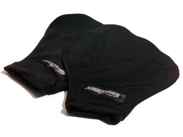AquaJogger Webbed Pro Gloves Black Small