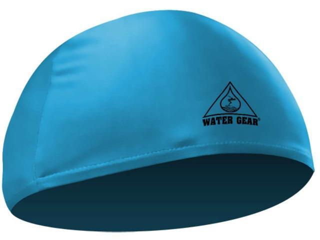 Water Gear Lycra Swim Cap Turquoise