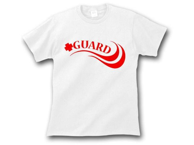 Lifeguard T-Shirt White X-Large
