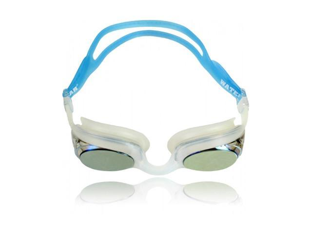 Water Gear Metallic Cuda Swim Goggles Blue