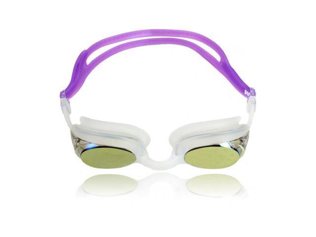 Water Gear Metallic Cuda Swim Goggles Purple