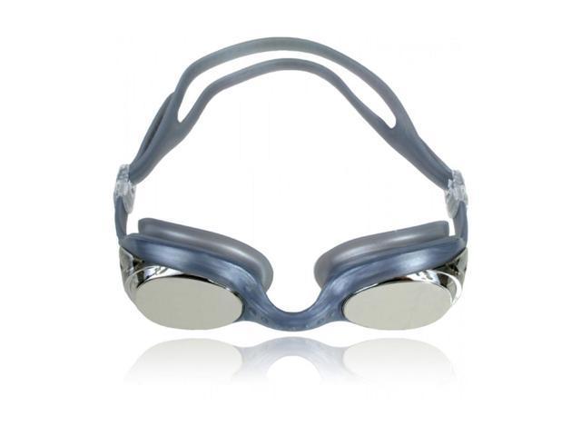 Water Gear Metallic Cuda Swim Goggles Silver