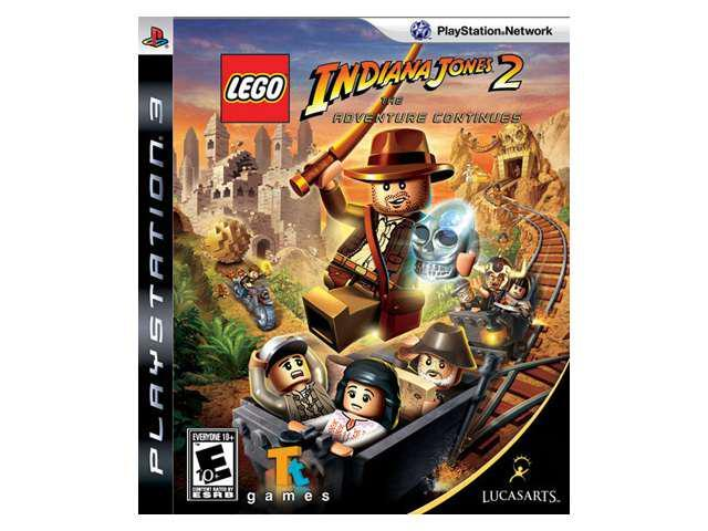 Lego Indiana Jones 2: Adventure Continues Playstation3 Game