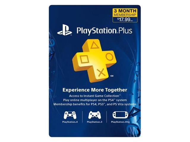 Sony PlayStation Plus Membership - 3 Month