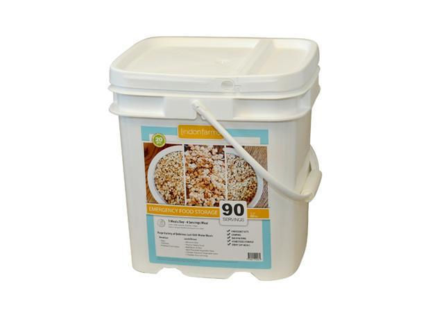 Lindon Farms 90 Servings Emergency Food Storage Kit-7 days, 1 person, 2000 calories a day
