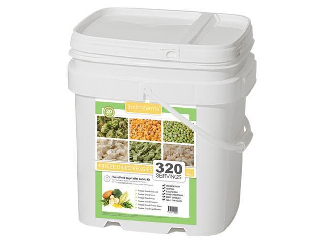 Lindon Farms 320 Servings Freeze Dried Vegetables