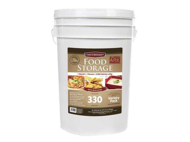 Dried Foods For Emergency Preparedness: Chef's Banquet All-Purpose Readiness Kit 1 Month Food
