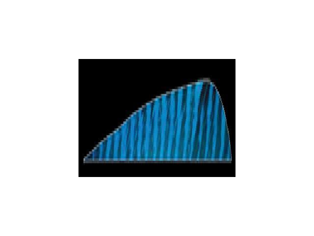 Gateway Feather 4 Rw Blue Barred Feathers