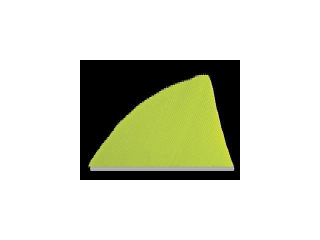 "Gateway Feather Rayzr 2"" Rw Feathers Lemon Lime"