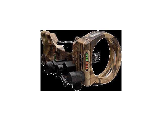 Truglo Tsx Pro Micro 5 Pin .019 Sight All Purpose Green W/Light