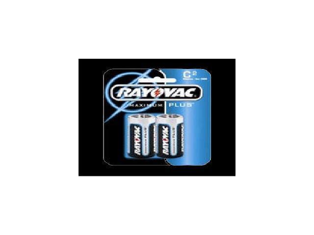 Mercury Free Alkaline Batteries C 2/Pk