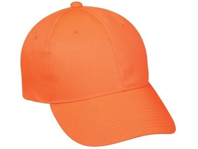 Outdoor Cap Company Solid Blaze Orange Cap