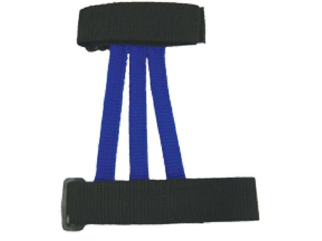 Wyandotte Leather Youth Web Armguard Blue