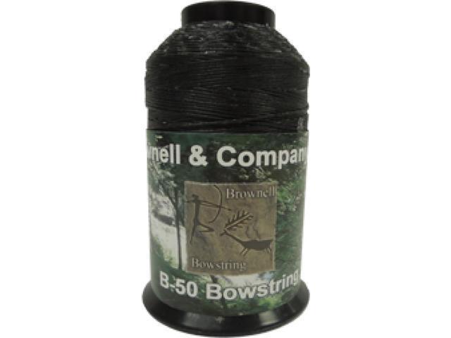 Brownell & B-50 Dacron Black 1/4 Lb Spool