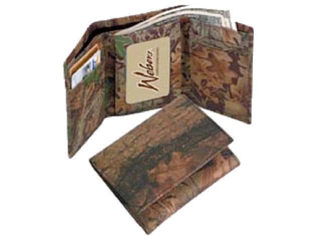 Weber Camo Leather Goods 200421 Breakup Leather Billfold