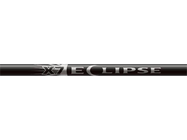 Easton X-7 Eclipse 2212 Raw Unfletched Shafts Without Inserts