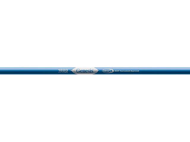 Easton Genesis 2 1820 Blue Raw Unfletched Shafts