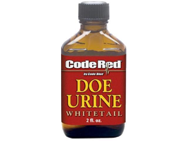Code Blue OA1155 Code Red Doe Urine 2 Ounce Hunting Scents Deer