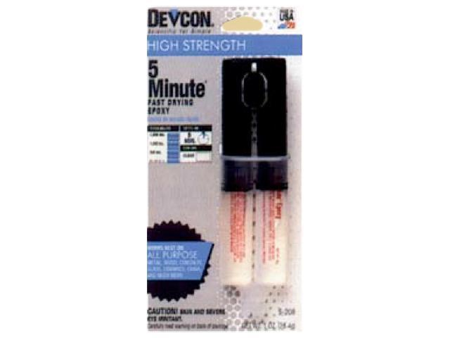 Servantage Dixie Sales Epoxy 5 Minute Cement Dev-Tube 1Oz