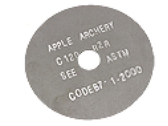 Apple Archery Products Black Sil.025 Cutoff Blade