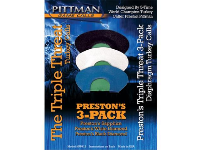 Pittman Preston Triple Threat Pack Diaphragm