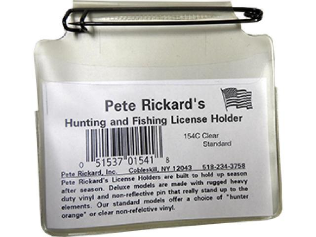 Pete Rickard Hunting Licence Holder Clear 154C