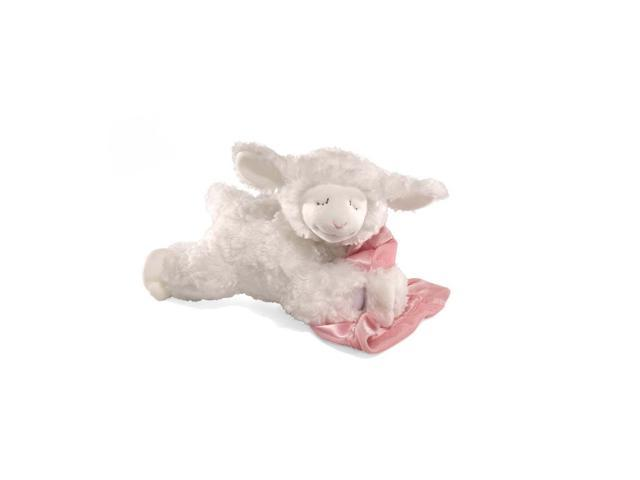 "Prayer Winky Pink Lamb 9"" by Gund"