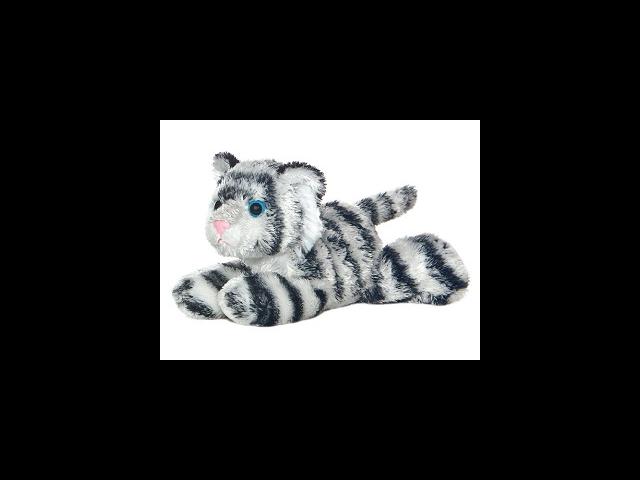 Shazam White Tiger Mini Flopsie 8